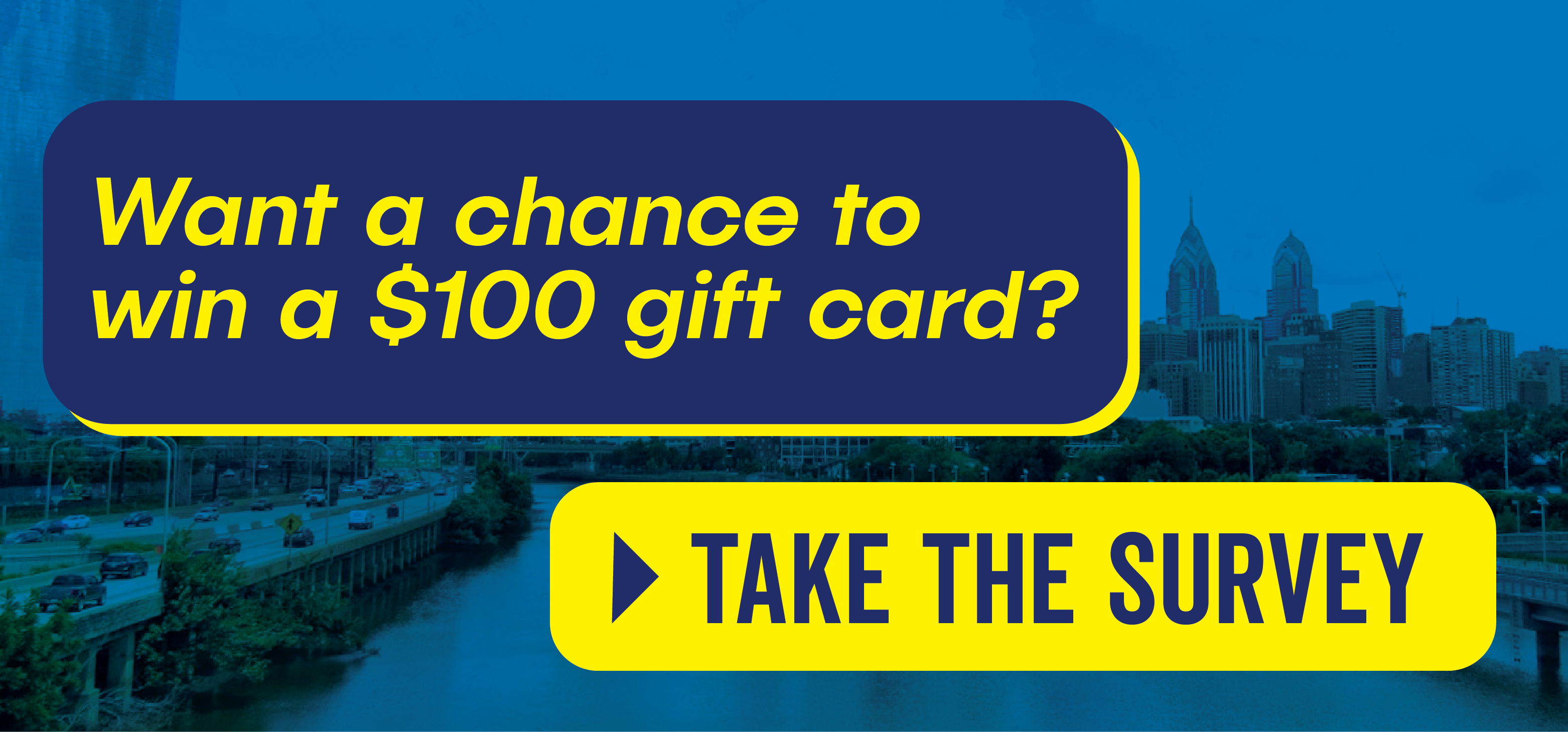 Want a chance to win a $100 gift card? Click here to take the survey!