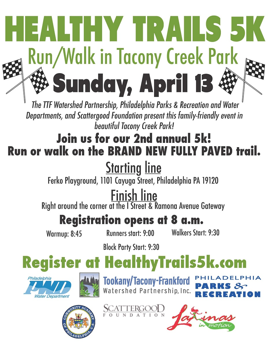 Healthy Trails 5K Flyer