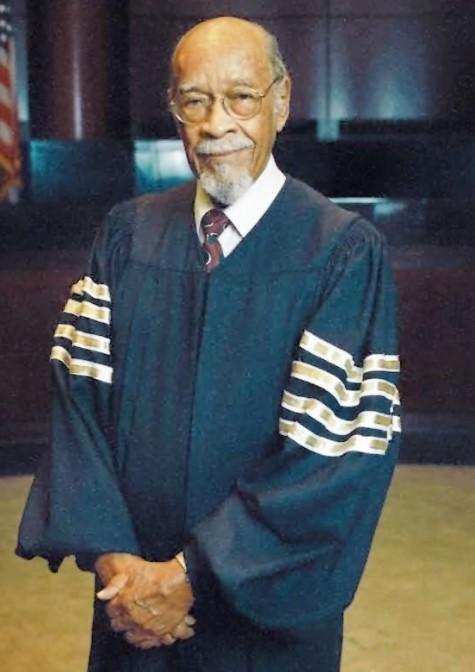 portrait of Judge Theodore McMillian